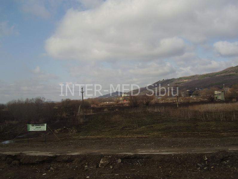 Vanzare teren pretabil constructie hala cu PUZ aprobat Sibiu