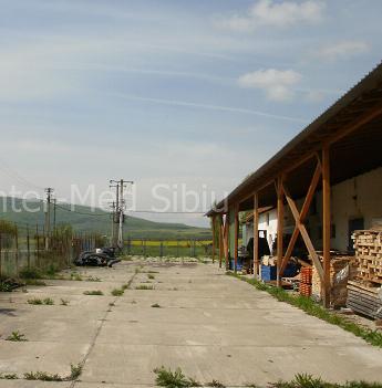 Vand hala 650mp cu teren aferent 4500mp  la 20km de Sibiu