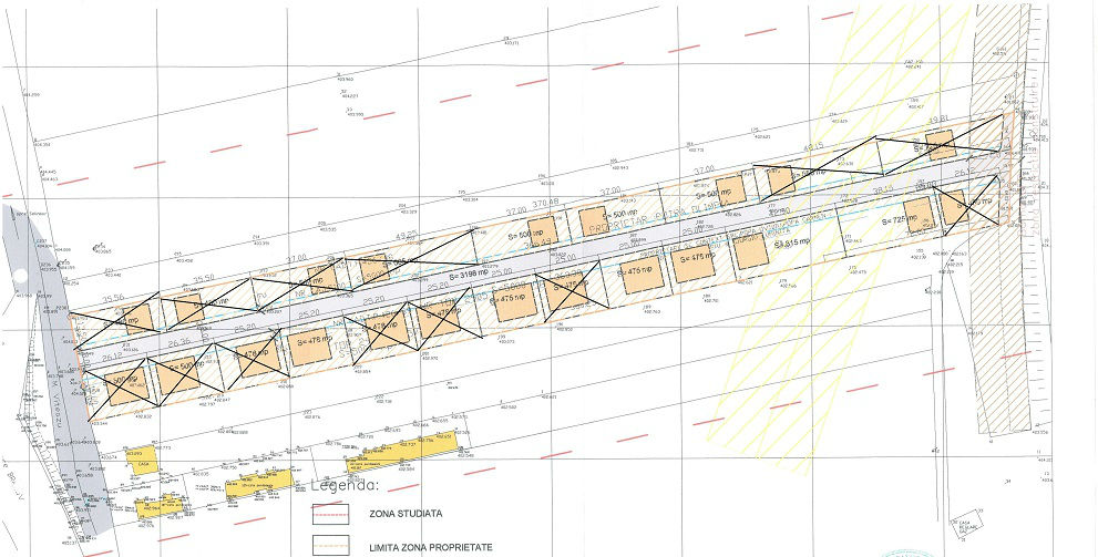 Parcele Selimbar plan