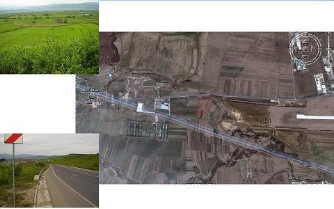Vand teren 12000mp situat intre Aeroport si Cristian Sibiu